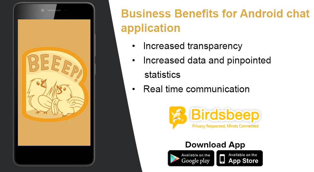 Business Benefits for Android Chat Application