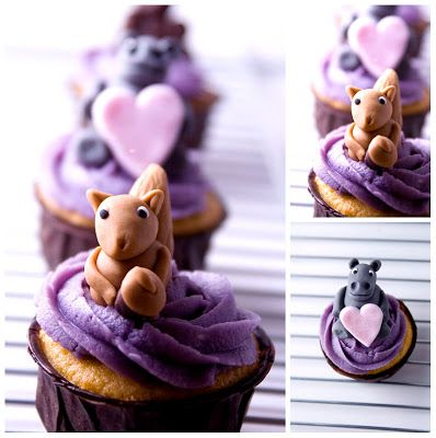 Objetivo: Cupcake Perfecto.: La tarta que hice para mis padres (con tutorial... y cupcakes de animalitos!!!)
