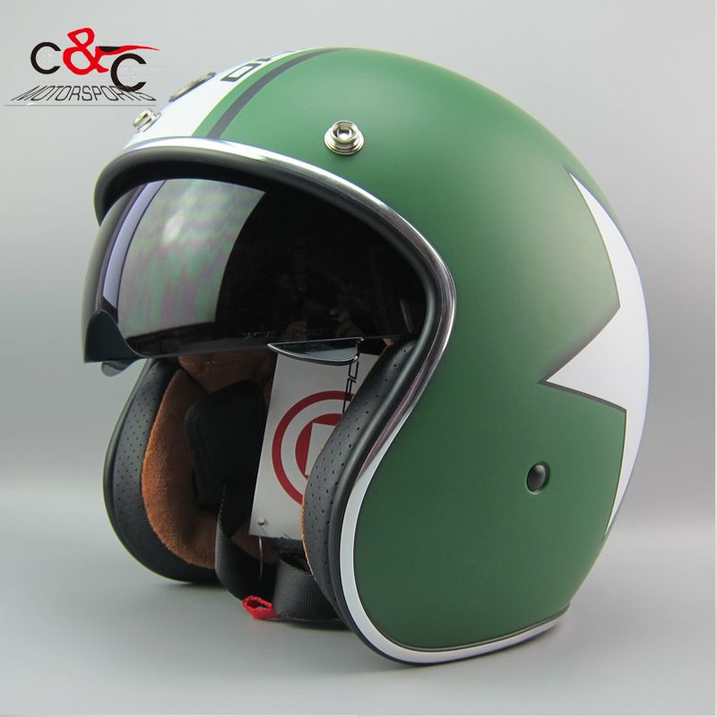 torc t57 open face vintage jet motorcycle helmet motocross capacete cascos moto retro casque. Black Bedroom Furniture Sets. Home Design Ideas