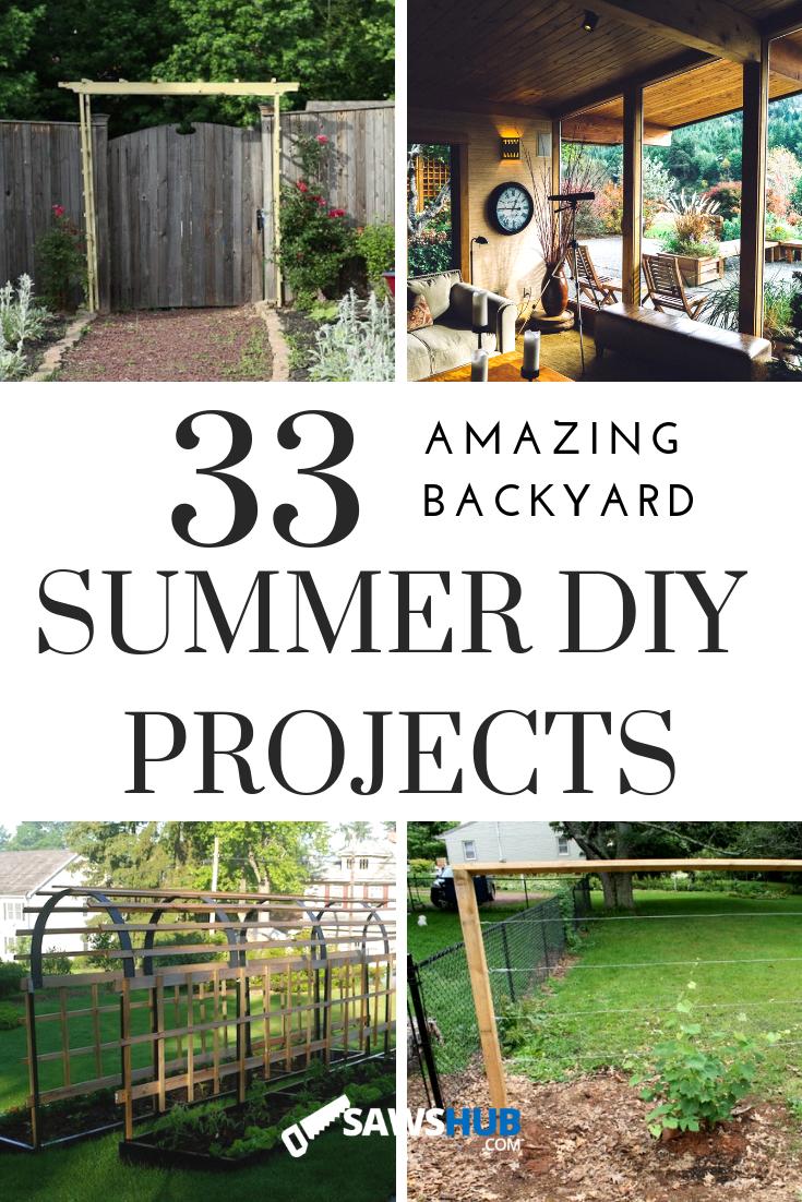 33 Amazing Diy Backyard Projects For Summer Summer Diy