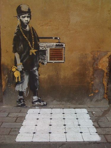 Banksy Gillett Square Dalston This Only Lasted For A Few Days