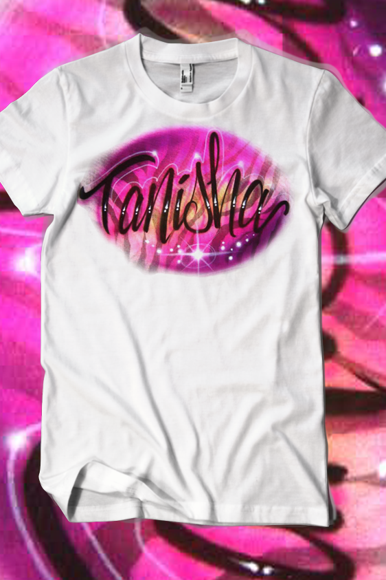 4246239a5a87 80's Zebra Pink Custom Airbrush T Shirt Only For $17.50 #Tshirts  #CustomClothes #Airbrushed #SprayTees