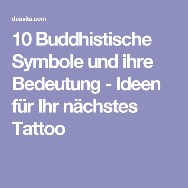 Mit bedeutung symbole buddhistische 17 Tibetische