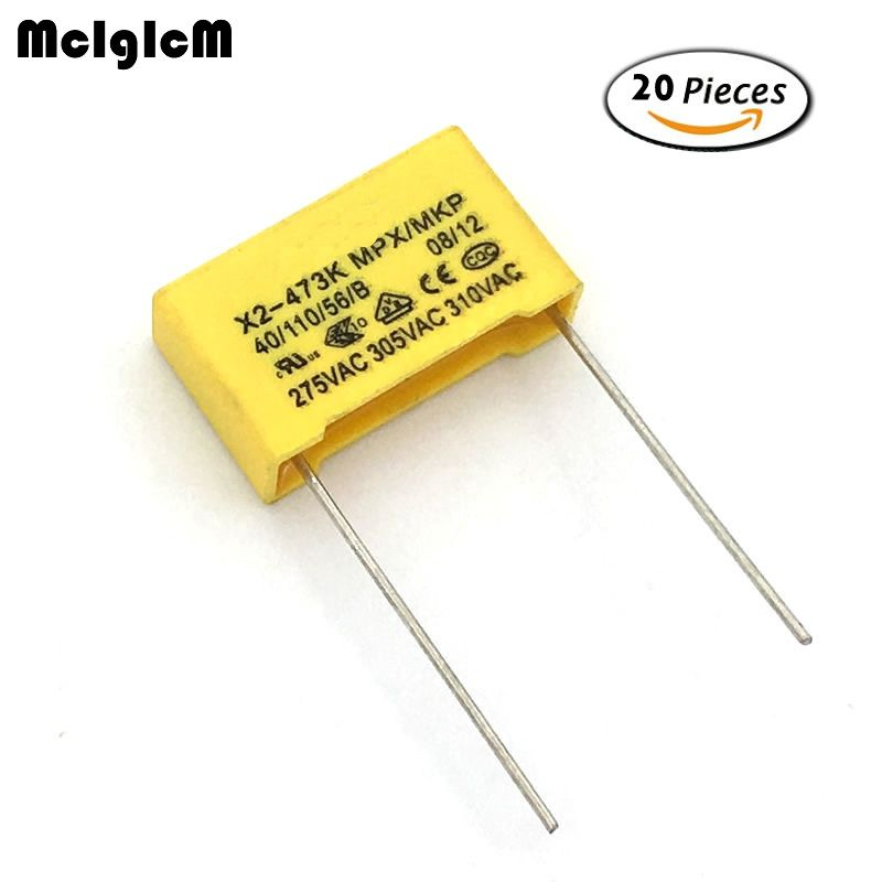 Pack of 20 12 Ohm 1//8 Watt universal Resistor