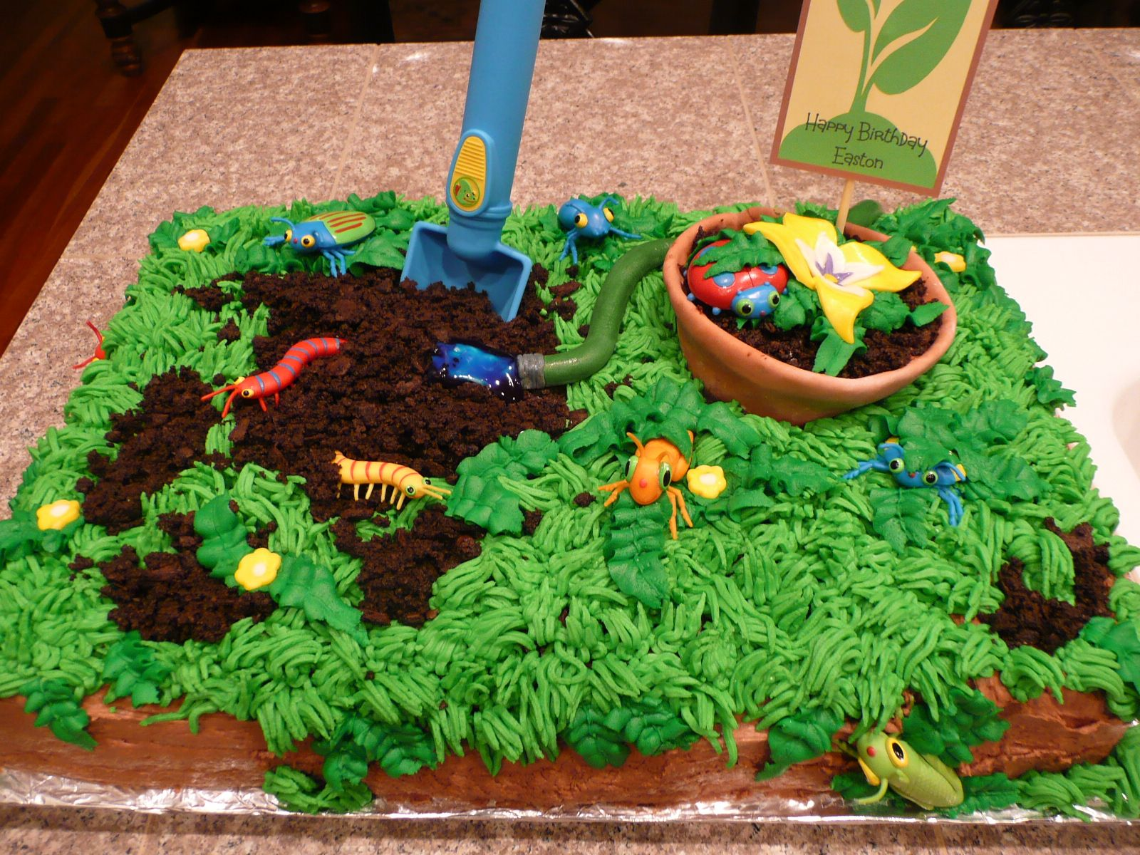 Earth Day Cake For Easton