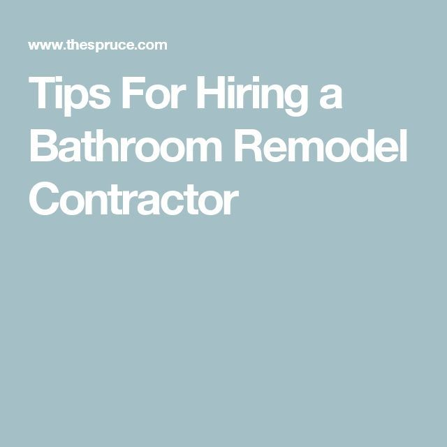 Kitchen And Bathroom Remodeling Contractors: Use These 3 Tips To Hire A Bathroom Remodeling Contractor