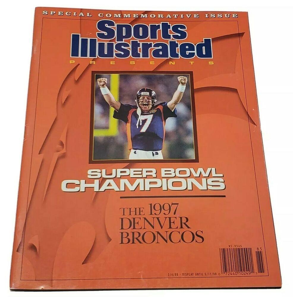 Denver Broncos Sports Illustrated Commemorative Issue