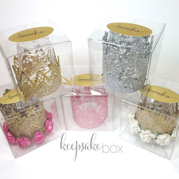 Keepsake box for Love Crush lace crown  gift от lovecrushbowtique