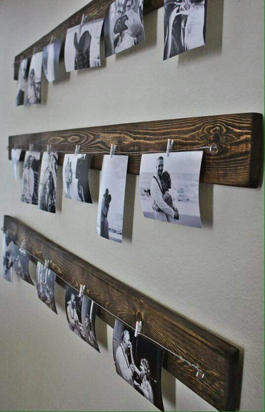 ♡♡♡ Porta fotos de madera Bedroom Pinterest Madera