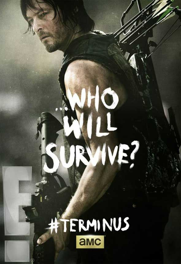 Who Will Survive? #Terminus The Walking Dead, Season 4 - Finale ...