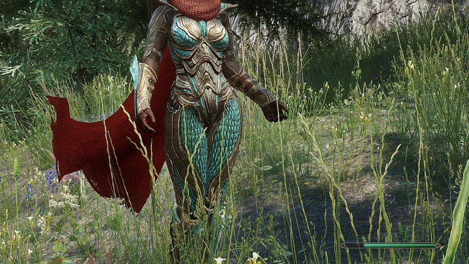 Truly Light Glass Armor (female) - Replacer - Standalone at Skyrim