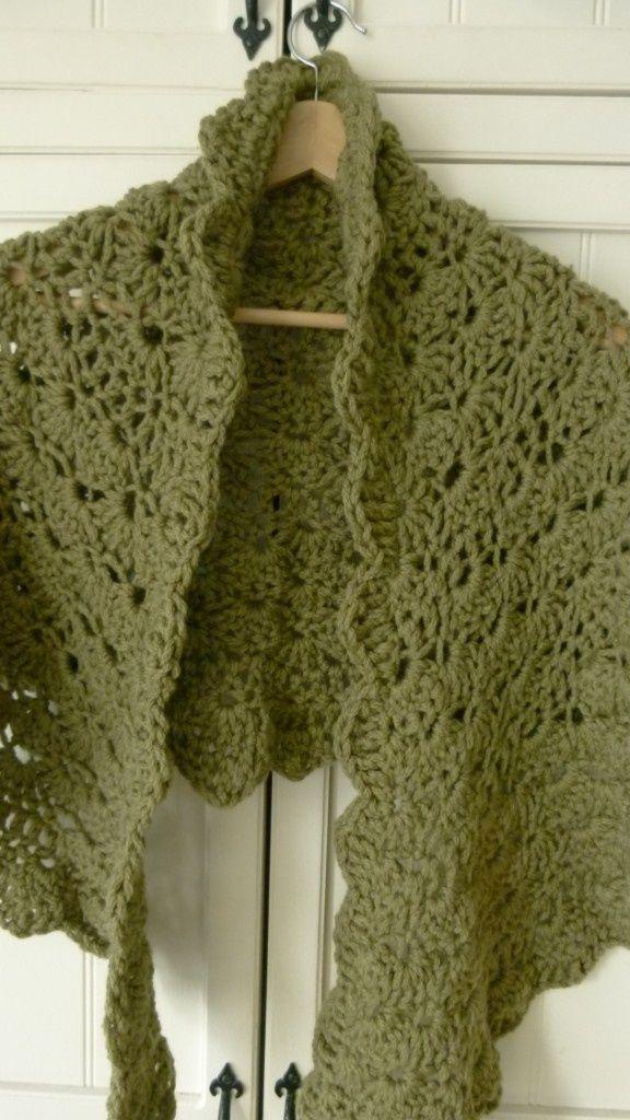 Pin By Naaipatronen Nl On Crochet Shawl Crochet Pattern Crochet Shawl Easy Crochet Shawl