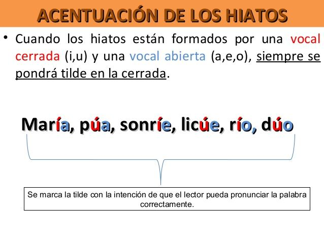 Diptongos Triptongos E Hiatos Spelling Resources Learning Spanish Writing