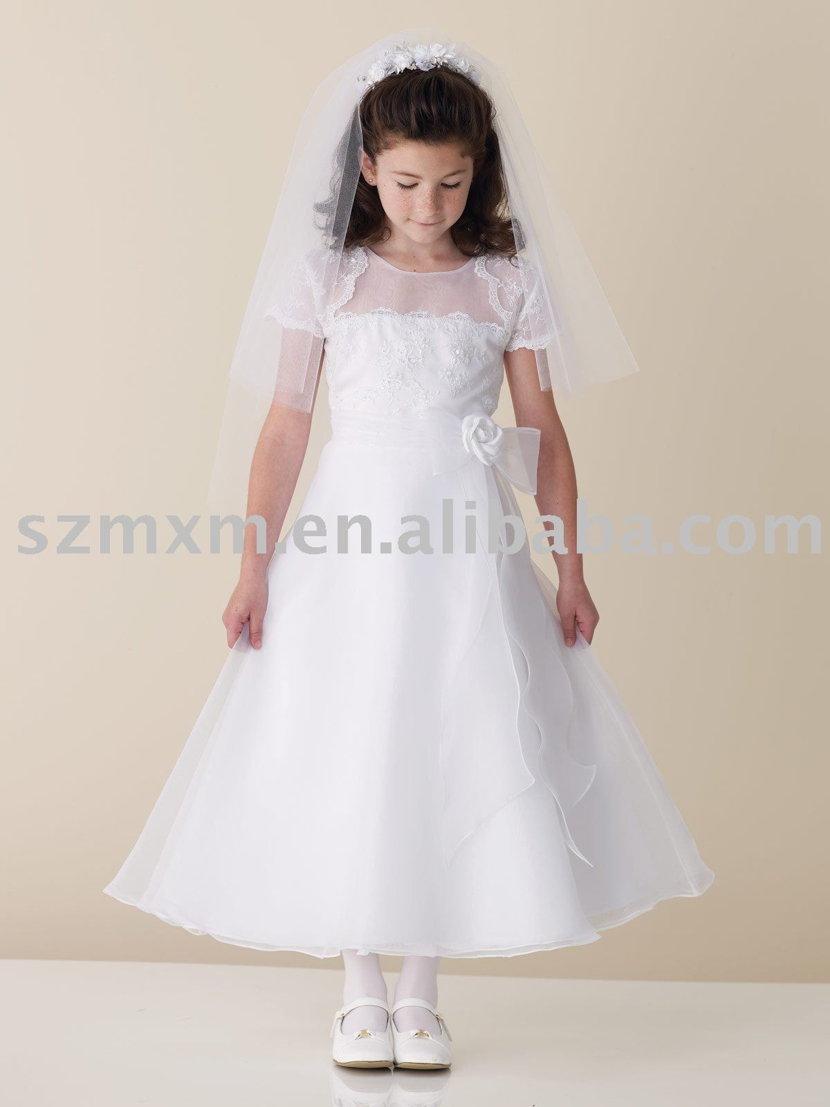 17 Best images about first communion dresses on Pinterest - Girls ...