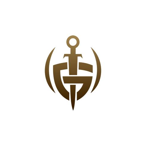 Sword Shield Logo Black Sword Logo Shield Logo Logo Inspiration