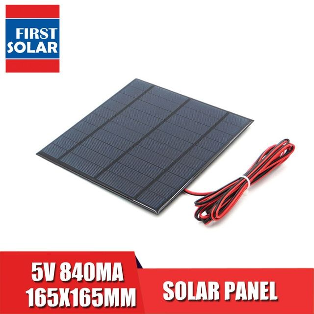 5v 840ma With 200cm Extend Cable Solar Panel Polycrystalline Silicon Diy Battery Charger Module Mini Solar Cell Wire Toy Review Solar Cell Solar Panels Solar