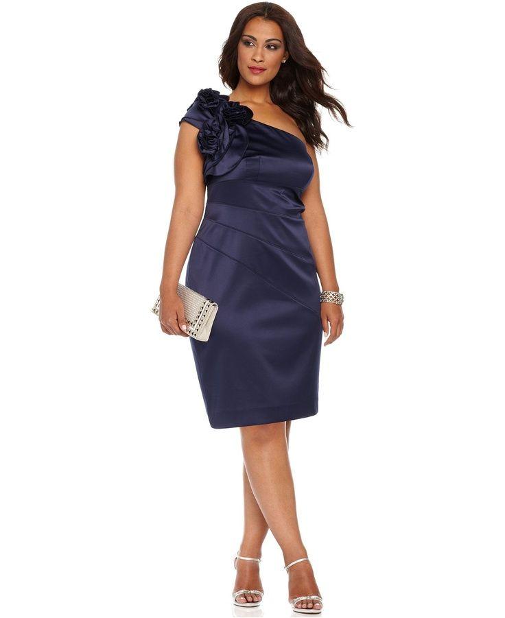Plus Size After 5 Dresses | Jessica Simpson Plus Size Dresses ...