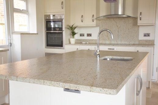 River White Granite Worktop Google Search Marble Kitchen