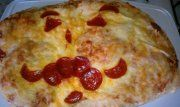I love making homemade pizza, you can make it as yummy as you want and as funny as you like o,~