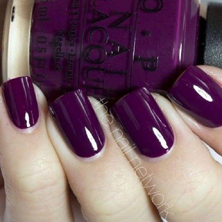 Top 10 Nail Design Ideas Purple nail Nail nail and Makeup