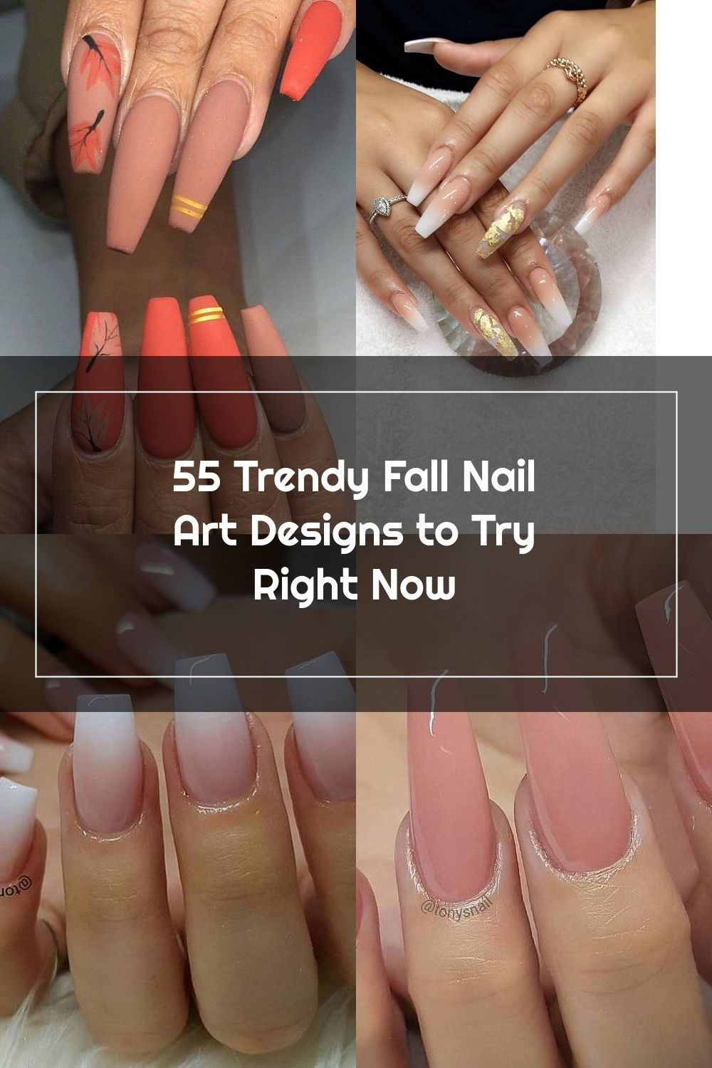 The Chill Of Fall Is Getting Stronger And Stronger Everyone Is Starting To Wear Thick Fall Clothes Not Only Should In 2020 Fall Nail Art Designs Fall Nail Art Nails