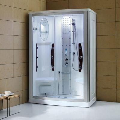 Ariel Ws 803a 55 In X 35 In X 86 In Steam Shower Enclosure Kit