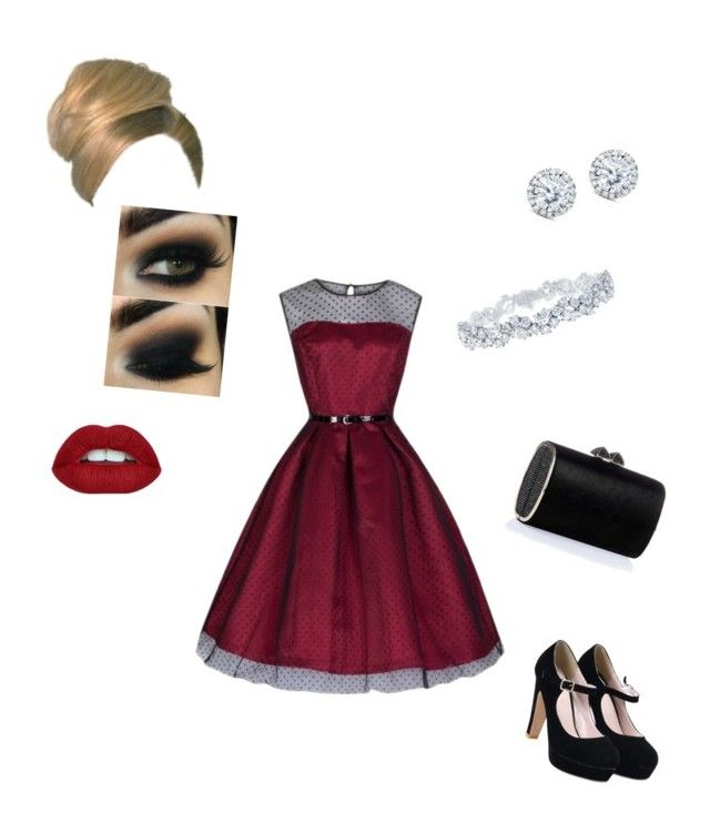 """""""Night out: elegant."""" by raptornsain on Polyvore featuring Jimmy Choo, Kobelli and Harry Winston"""