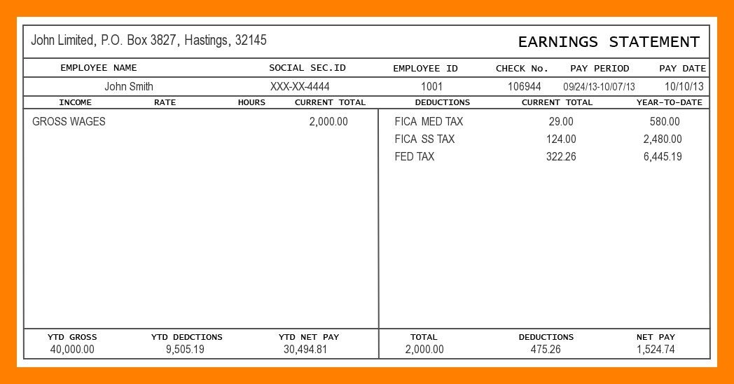 1099 Contractor Pay Stub Template New 7 Independent Contractor Pay