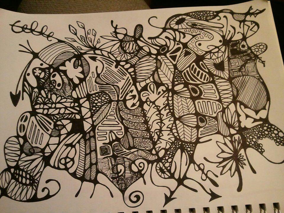 Lots of doodling