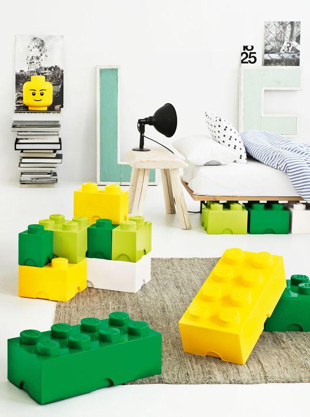20 Cool Furniture Designs Made Out of Legos. EnfantsDeco Chambre EnfantDeco