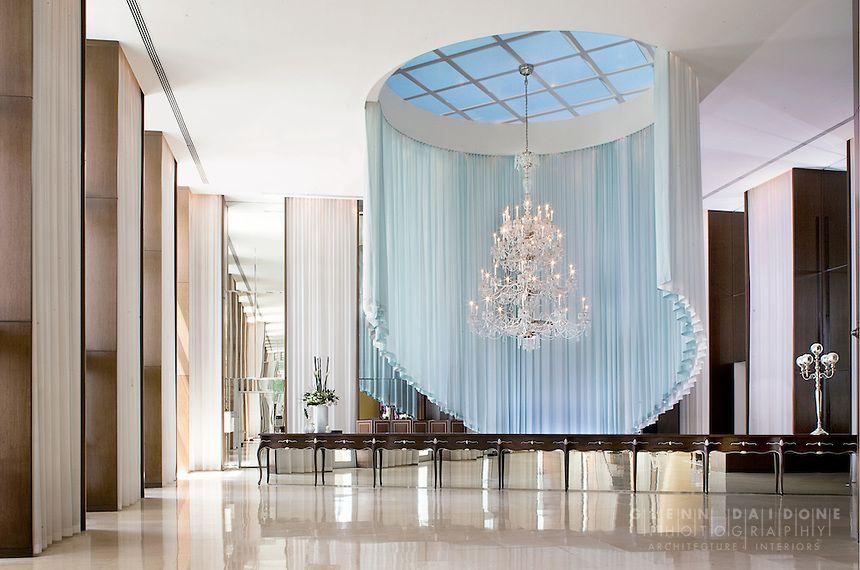 Lobby at ICON condominiums  Interior by Phillipe Starck