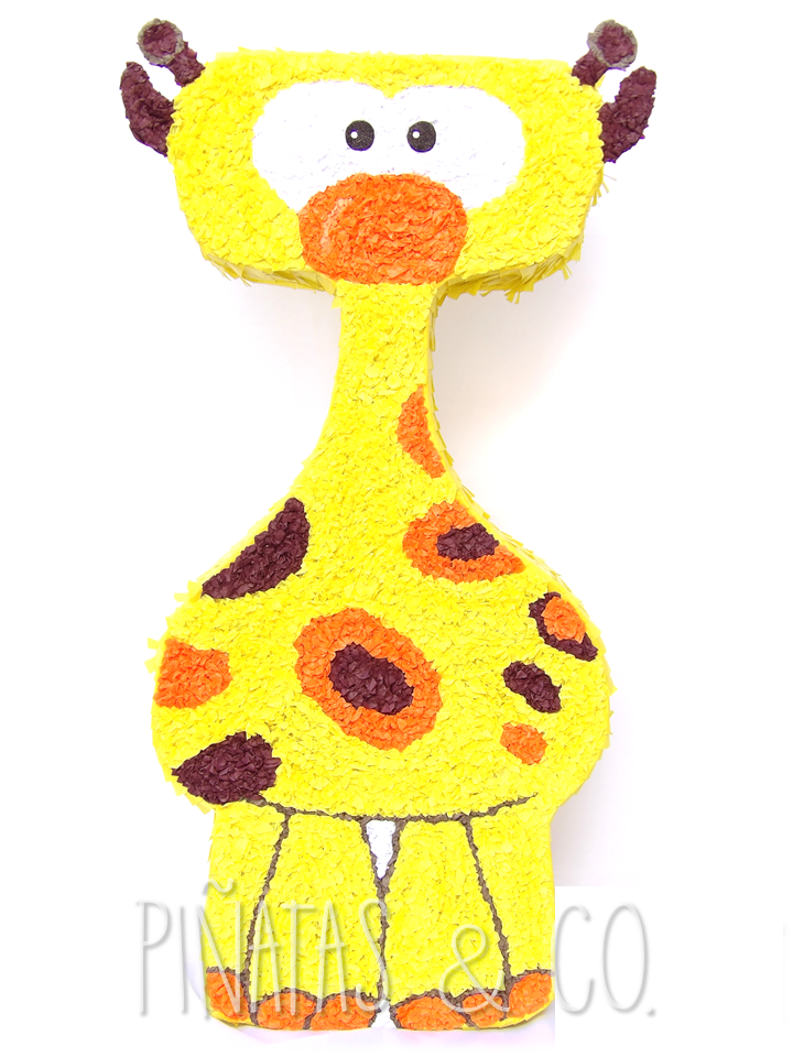 Pinata Jirafa Baby Tv Pinata Giraffe Tv