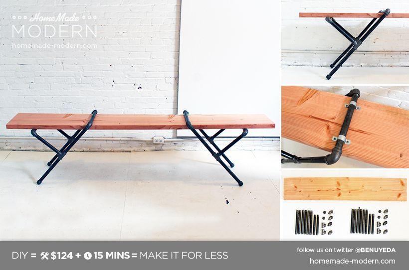 Industrial Style Tisch Varianten (auch DIY) - Genial Einfach