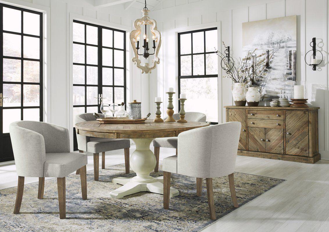 Jessamine Upholstered Dining Chair Joss Main Home Decor
