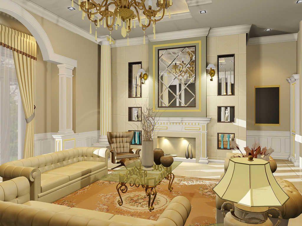 Desain Warna Rumah Klasik Interior Elegant Living Room Design Elegant Living Room Classic Interior Design Living Room Desain interior rumah klasik