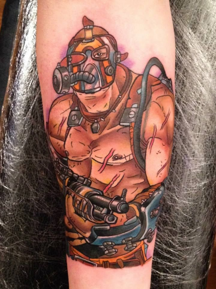 borderlands tattoos - Google Search