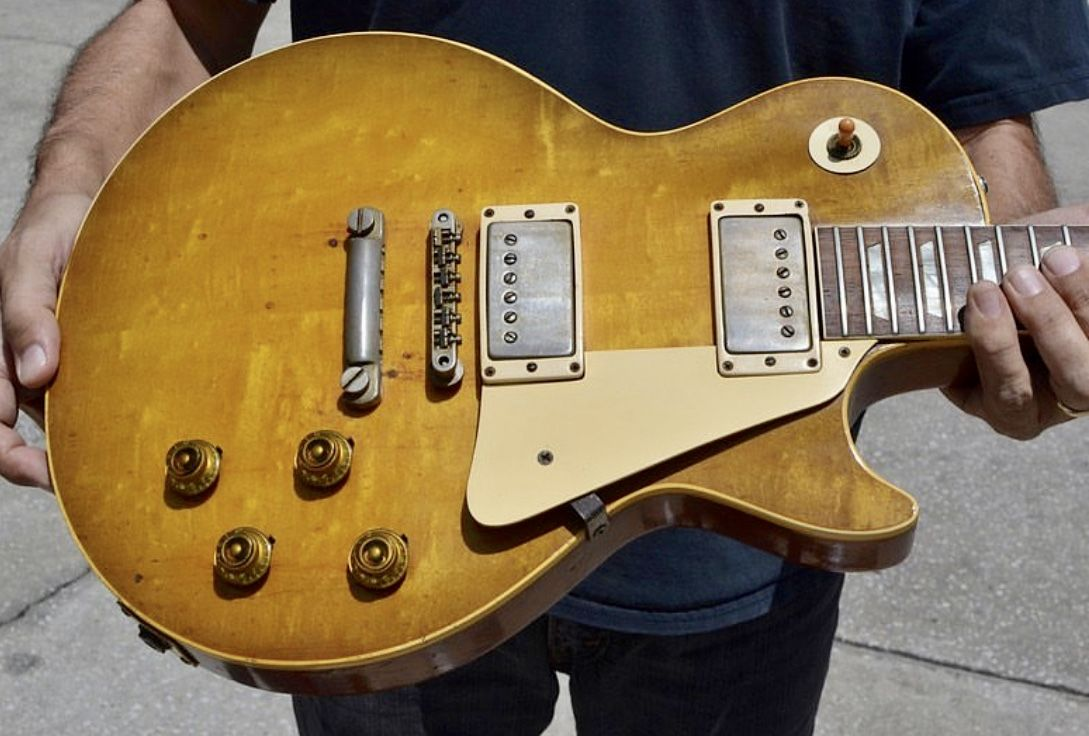 1958 Gibson Les Paul Standard Keith Richards Mick Taylor Get