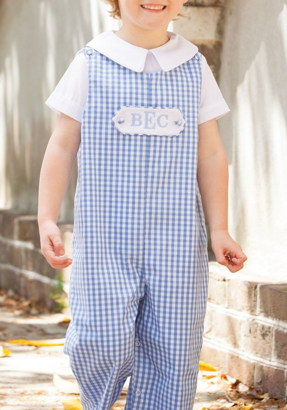 8a8afeb7 Shrimp & Grits Kids - True Blue Tab Longall | MB | Kids clothes boys ...