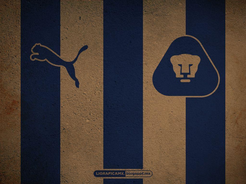 wallpaper #rayas #ligraficamx #diseñoyfútbol • #pumas #unam | pumas