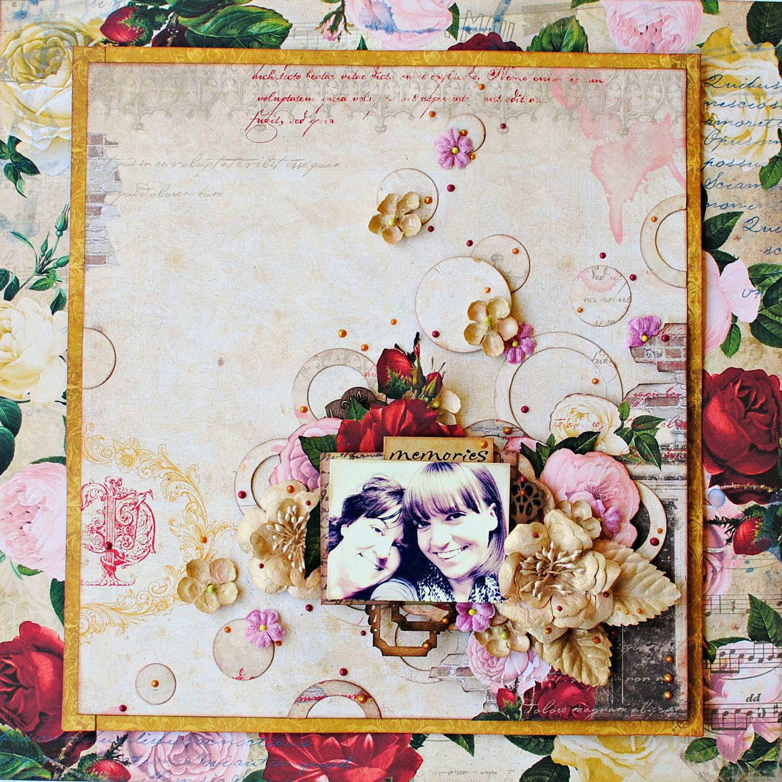 Juliet scrapbook ideas - Bo Bunny Juliet Collection Scrapbooking Ideasscrapbook