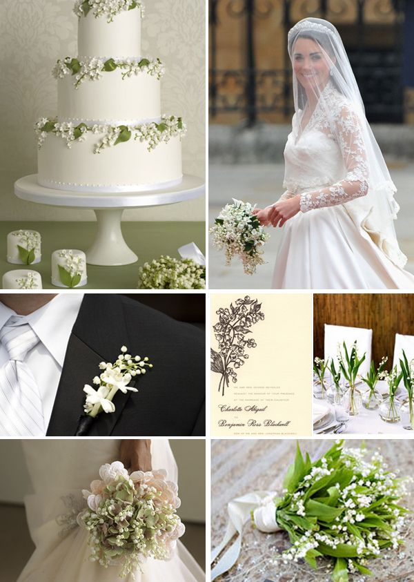 Lily Of The Valley Inspiration Wedding