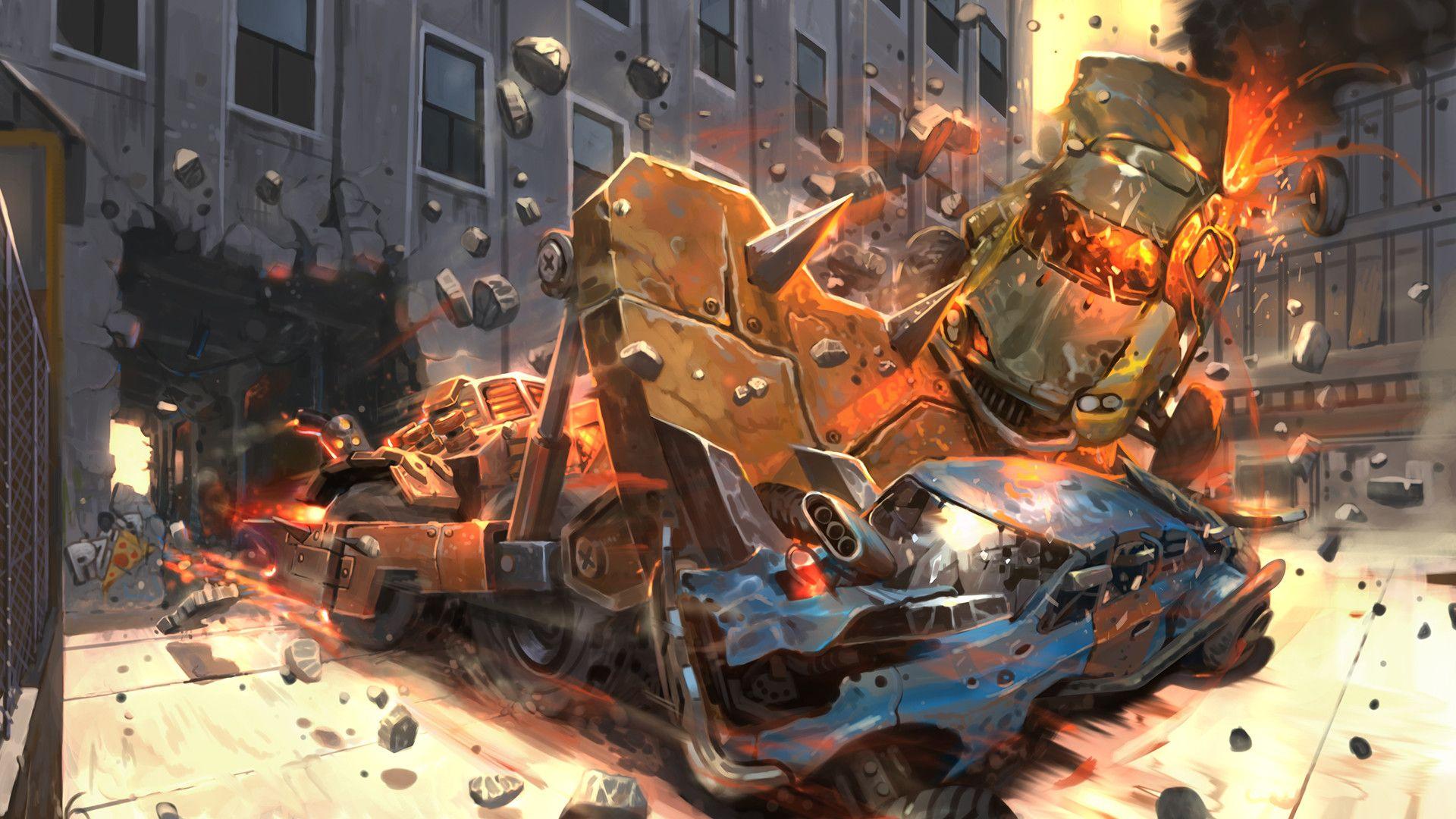 Artstation Heavy Metal Machines Raqsonu Duhu Heavy Metal Metal Artwork Hd wallpaper heavy metal machines game