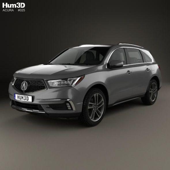 Acura MDX Sport Hybrid 2017 #MDX, #Acura, #Sport, #Hybrid