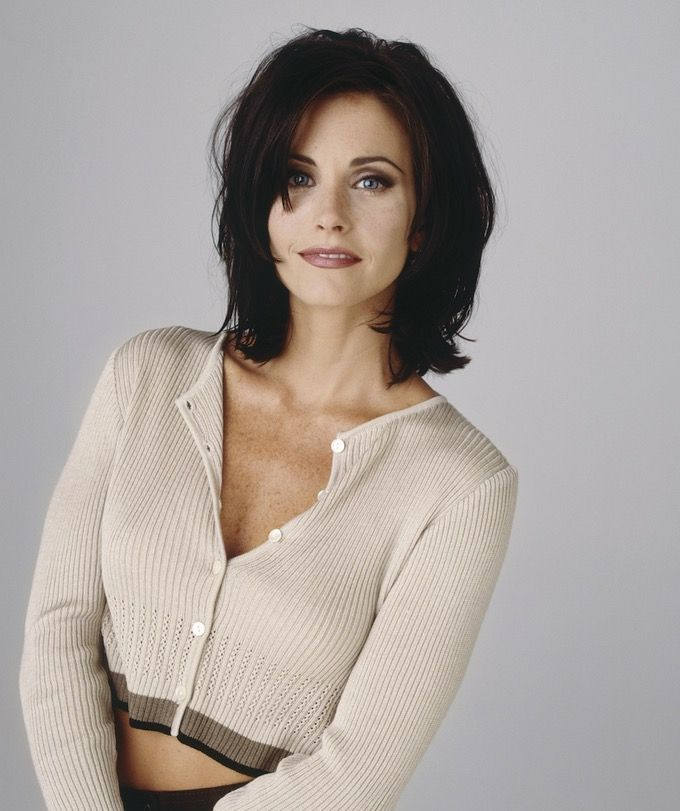 Image result for the hairstyles of monica geller