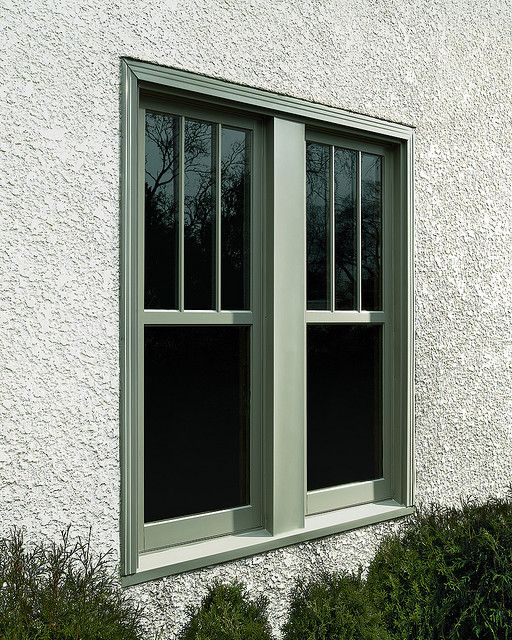Ultimate Replacement Casement Simulated Double Hung Exterior