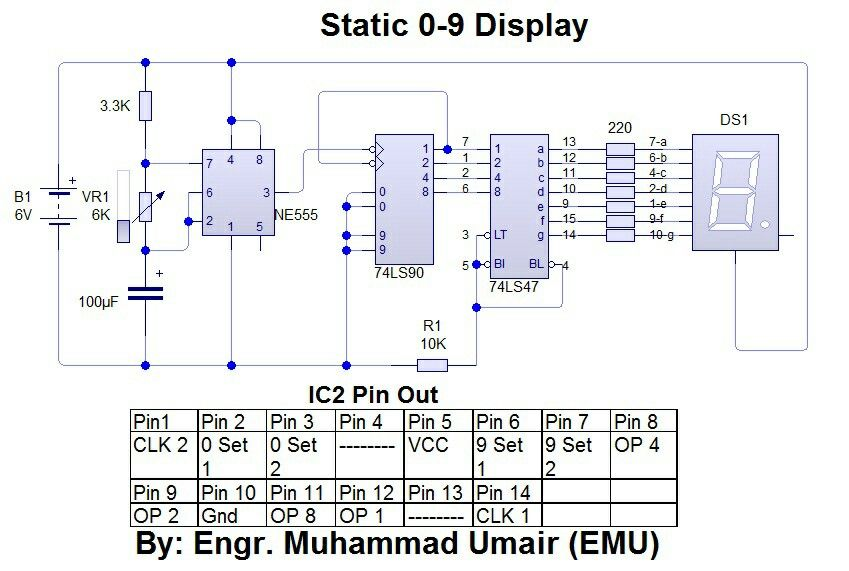 Static 0 - 9 Display Circuit Electrical \ Electronics - intel component design engineer sample resume