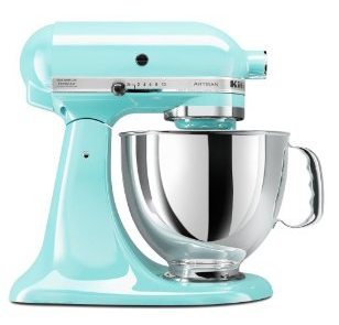 kitchenaid mixer teal. I already have one, but its not nearly as pretty as this!