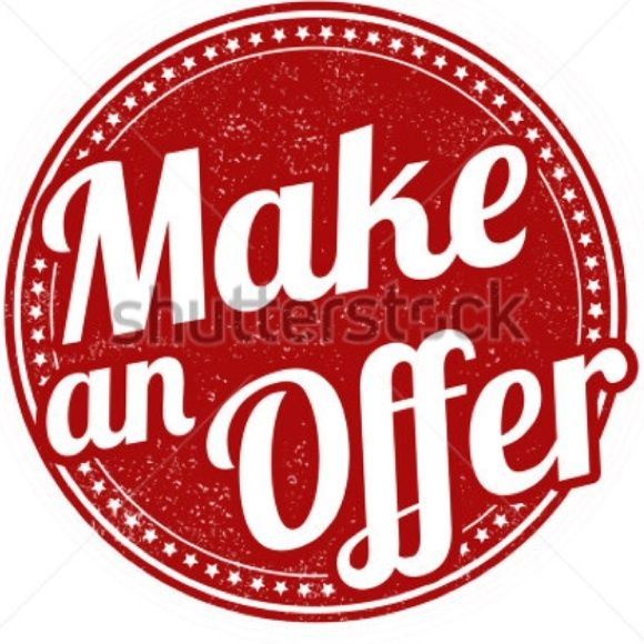 Don't be shy! Make an offer. I look at all offers. If it is fair -  I will accept it! That is why there is an OFFER button.  Use it.  Send your best fair price over. ✌️I look at them all.  Most are accepted too.  I cannot say yes if you do not ask.  Accessories