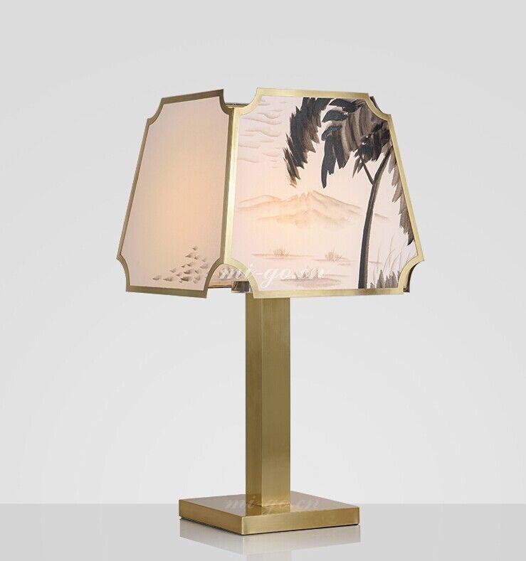 Mi Go米高 中式国画台灯 Chinese Table Lamp Lighting Table Lamp