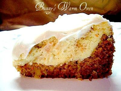 A copycat Cheesecake Factory Carrot Cheese Cake.  It was fantastic!